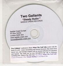 (GS722) Two Gallants, Steady Rollin' - 2006 DJ CD