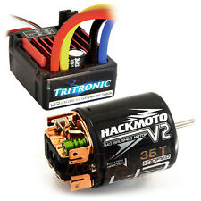Yeah Racing Tritronic Waterproof 60A ESC 35T Brushed Motor RC Cars Combo #CB0814