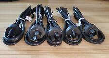 Samsung 5 x Computer PC POWER Cord 3 pin Cable Australia Plug