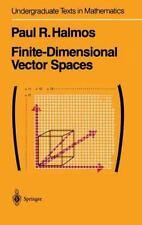 Finite-Dimensional Vector Spaces (Undergraduate Texts in Mathematics), Halmos, P