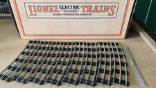 "MTH / Lionel Standard Gauge 72"" Tubular Curve Track Std. 8 pieces Half Circle"