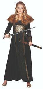 Rubies 13401 - Wikinger Königin, Nordische Kriegerin, Schildmaid Kostüm 34 - 44