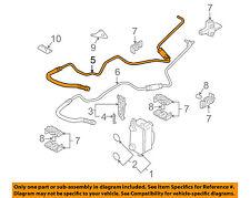 BMW OEM 02-03 745i 4.4L-V8 Transmission Oil Cooler-Inlet tube 17227508028
