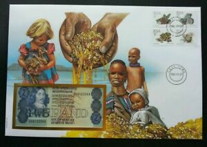 [SJ] South Africa Cactus 1993 Bird Rice Agricultural Daily FDC (banknote cover)
