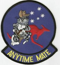 "F-14 Tomcat Large ""Anytime Mate"" patch"
