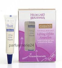 Hildegard Braukmann exquisit Lifting Effekt Ampullen Ampullen 3x 5 ml
