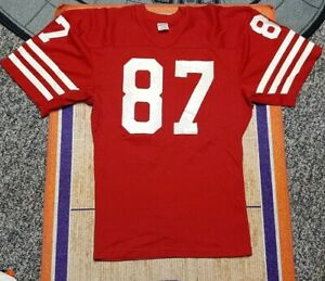 Dwight Clark San Francisco 49ers vintage NFL jersey, Rawlings, SEE PHOTOS