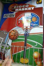 Mini canestro basket con base Kit gioco di qualità giocattolo toy a35