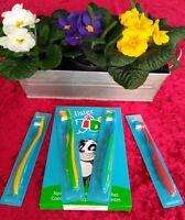4 Kinderzahnbürsten Kids Mundpflege Zahnbürste Pack mit 4 Stück AMWAY™ GLISTER™