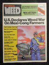 1976 Jan National Weed Magazine #1 Fvf 7.0 R Crumb / G Shelton / Zippy Pinhead