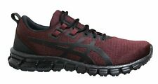Asics Gel-Quantum 90 Burgundy Low Lace Up Mens Running Trainers 1021A123 600