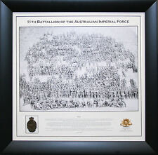 Anzac Framed Tribute with Gallipoli Medal and Rising Sun Framed