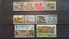 KENYA   CLASSICS 1963 MI.NR 1-10