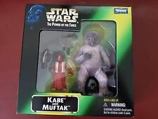 STAR WARS THE POWER OF THE FORCE KABE & MUFTAK 1998 MAIL-AWAY MINT IN BOX! MIB!