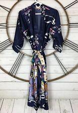 Oriental Village Silk Collection Kimono Robe One Size Satin Silk Oriental Women