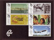 NEW ZEALAND 2015 NZ AVIATION 75th ANNIVERSARY,MINIATURE SHEET  FINE USED