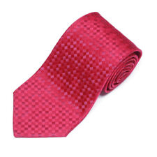 CHARVET Magenta Purple Checkerboard Diamond Men's Silk Neck Tie