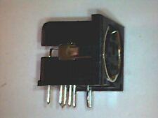 ► Mini-DIN Buchse 6pol Print PCB mounting Einbaubuchse