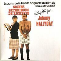 Meilleur Prix ! JOHNNY HALLYDAY : BOF - SIGNES EXTÉRIEURS DE RICHESSE [ SINGLE ]