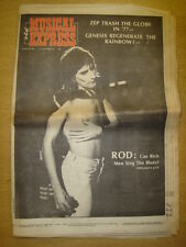NME 1976 OCT 30 ROD STEWART LED ZEPELLIN GENESIS YES