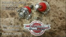 NIB CHROME RED Upper Ball Joints 78-87 G-Body & 71-96 Impala/Caprice