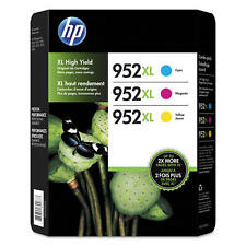 3-Pack *New in Box* HP Genuine 952XL Color Ink - Exp 08/2021 or later