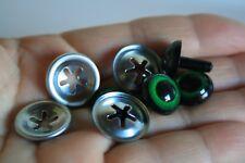 Ojos de seguridad verdes 12 mm para osos de peluche amigurumi juguetes animales