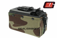 MAG 2500rd Airsoft Toy Drum Pouch Magazine For Classic Army CA / TOP M249 AEG WC