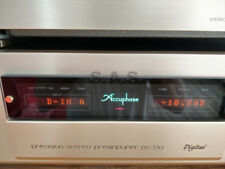 ACCUPHASE DC-330 DIGITAL PRE-AMP + MANY OPTION CARDS - PRISTINE & BOX/REMOTE!