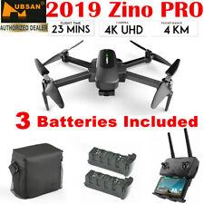 Hubsan Zino PRO Drone GPS 5G Wifi 4KM FPV W/4K Camera 3Axis Gimbal+Bag+2 Battery