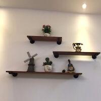 Wall Mounted Holder Rack Shelf Household Iron Heavy Duty Shelf Brackets Q
