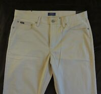 Polo Ralph Lauren Flat Prospect Straight Khaki Chino Golf Classic Pants 36 32