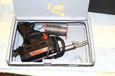 WELLER 8200 DUAL HEAT 100/140 watt SOLDERING GUN in DREMEL KIT CASE TESTED    21