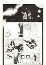 X-Men: The End #13 p.10 - Professor Xavier and Kitty Pryde 2006 by Sean Chen