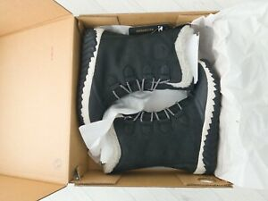 SOREL Out N About Plus Tall Duck Boots Size UK 4 US 6 Leather Rubber Winter