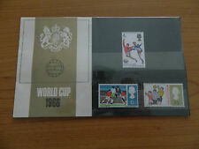 1966 WORLD CUP PRESENTATION PACK  IN MINT CONDITION