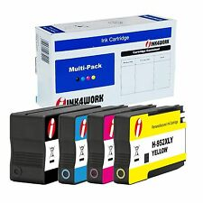 4pk Compatible 952XL 952 XL Ink Cartridge For OfficeJet Pro 7740 8210 8216 8218