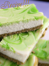 ☆Key Lime Cheesecake Bars RECIPE☆Creamy and Delicious☆Hit for Social Gatherings☆
