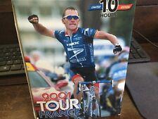 Tour De France 2001 Vcr Special Edition 5 Tape set in Box .
