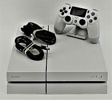 Sony Playstation 4 Glacier White Model 1115A - 500GB, W Controller -Tested