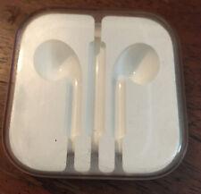 "*EMPTY"" APPLE iPhone EARBUDS ear bud Headphones Plastic Storage case"