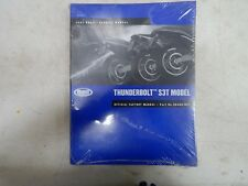 Genuine Buell 2002 Thunderbolt S3T Factory Service Repair Manual P/N: 99489-02Y
