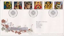 BETHLEHEM GB ROYAL MAIL FIRST DAY COVER FDC 2005 CHRISTMAS STAMP SET