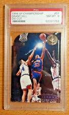 GRANT HILL Rookie Card - Upper Deck 1994 SP Championship (PSA 8)