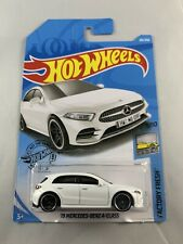 Hot Wheels - '19 Mercedes Benz A-Class - 2019 L Case White - BOXED SHIPPING