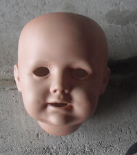 "Vintage Porcelain JDK Kestner 247  Reproduction  Boy Doll Head 3 3/4"" Tall #3"