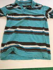 Boy's Clothing Old Navy Stripe Blue Brown Color Shirt Preowned XL 14/16