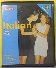 Italian by Berlitz Editors (Audio CD / 224 Page Phrase Book)