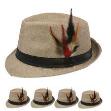 Fedora Hat Wedding Dress Formal WINTER BEIGE CAP FASHION MEN WOMEN VALENTINES