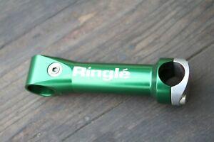 "Ringle Zooka stem 135mm 1 1/8"" 25.4 USED theadless GREEN 0degree"